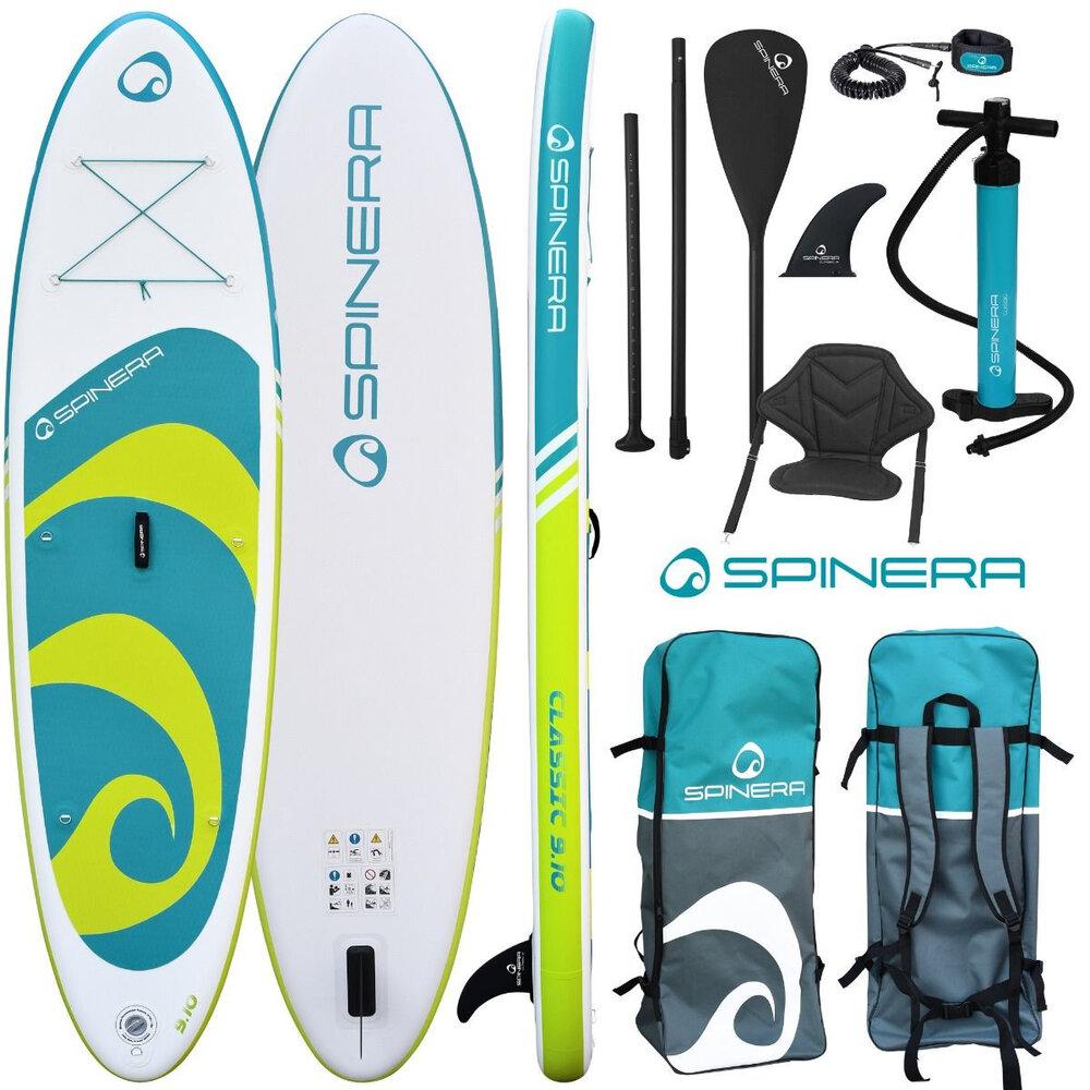 "SPINERA SUP CLASSIC - Paddleboard aj kajak 9´10 "" - 300x76x15cm"