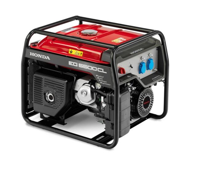 HONDA EG 5500CL - odolný výkonný generátor
