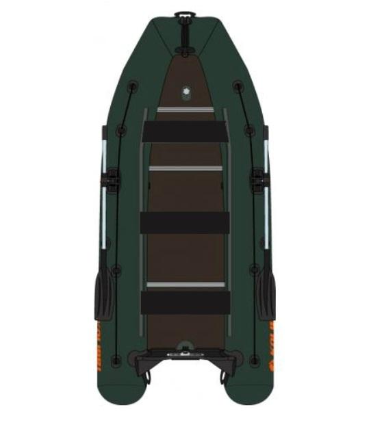 KOLIBRI KM-450 DSL, vystužená drevená podlaha - zel